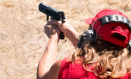 Intro Handgun Course, NRA Certification Course, or CCW Course for One or Two by Women Taking Aim (Up to 52% Off)