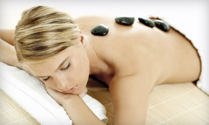 Andrea at Dharma Salon - Ridgefield: 60-, 90-, or 120-Minute Hot-Stone or Deep-Tissue Massage from Andrea at Dharma Salon (Up to 55% Off)