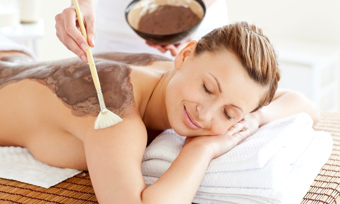 Perla's Beauty Center - Melvindale: Mani-Pedi, Aloe or Chocolate Body Wrap, or Mani-Pedi with Body Wrap at Perla's Beauty Center (Up to 54% Off)