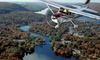 Sky Training LLC. - Greenwood Lake Airport: Discovery Flight for One or Two, or Scenic or Romantic Skyline Flight for Two from Sky Training LLC (Up to 58% Off)