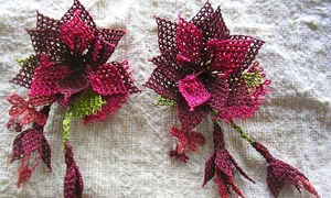 Turkish Cultural Center: $20 for Needle Lace Jewelry-Making Class at Turkish Cultural Center ($40 Value)