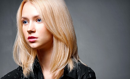 Cut and Blow-Dry with Optional Conditioning and Highlights at Julie Wade at Kristin Karl Salon (Up to 63% Off)
