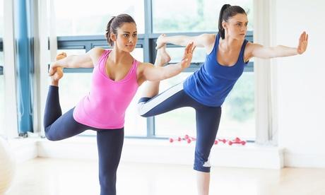 1 Monat Yoga-Flatrate bei Unit Yoga Wiesbaden für 29,90 € in Train