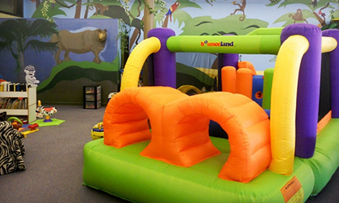 The Jungle Gym - Dallas: 10-Visit Punch Card for Indoor Play or a Birthday Party for Up to 15 at The Jungle Gym in Dallas (Up to 54% Off)