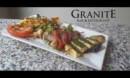 $15 for $25 Worth of Tapas — Granite Bar & Restaurant:  Savannah, GA