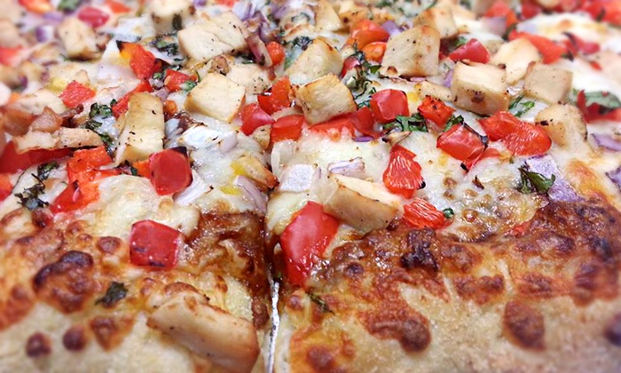 Glass Nickel Pizza Co. - Fort Howard: Pizza, Appetizers, and Beer for Two or Four at at Glass Nickel Pizza Co. (Up to 53% Off)