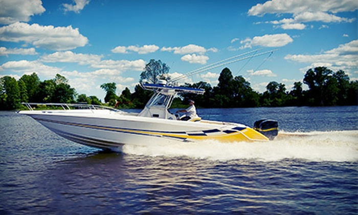 Lowcountry Boat Rentals - Isle of Palms: Half- or Full-Day Boat Excursion for Up to 10 from Lowcountry Boat Rentals (Up to 52% Off)