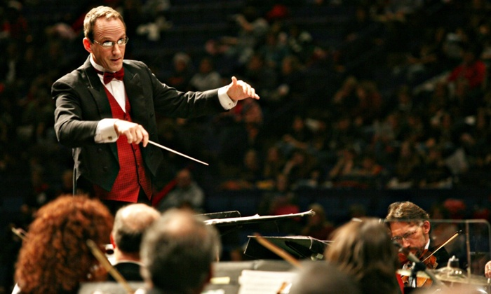 """The Lexington Philharmonic's """"Candy Cane: Spirit of the Holidays"""" - Singletary Center for the Arts : Lexington Philharmonic's """"Candy Cane: Spirit of the Holidays"""" for Two on December 15 at 3 p.m. (Up to 62% Off)"""