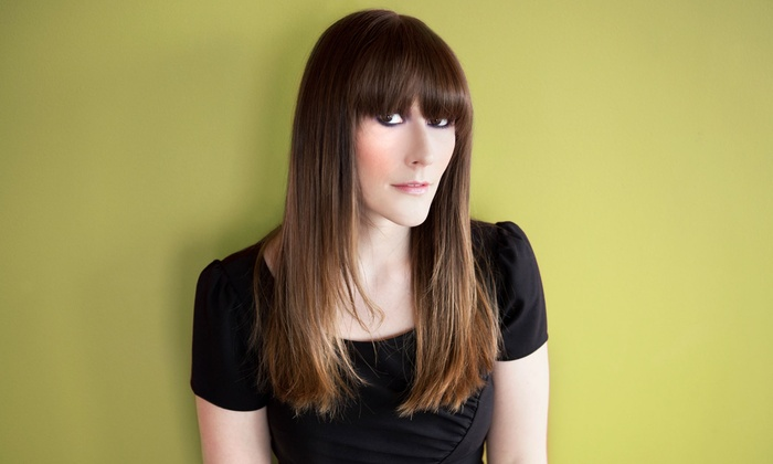 Sunrise Hair Design - Louth: Blow-Dry Style with Haircut or Partial Highlights at Sunrise Hair Design (Up to 67% Off)