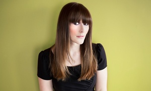 Sunrise Hair Design: Blow-Dry Style with Haircut or Partial Highlights at Sunrise Hair Design (Up to 67% Off)