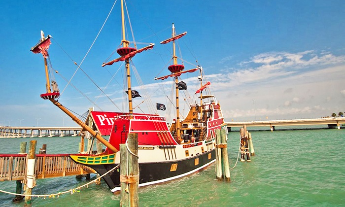 Osprey Cruises - Port Isabel: Midday or Evening Pirate Boat Cruise for Two or Four from Osprey Cruises (Up to 50% Value)