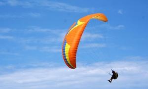 Paisajes Aéreos: Curso de parapente con teoría y práctica de vuelo para una o dos personas desde 29,90 €