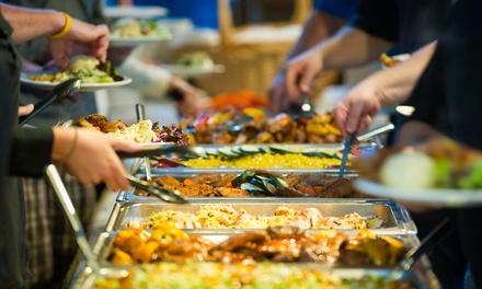 Buffet à volonté avec boisson soft ou cocktail maison pour 1, 2 ou 4 personnes, dès 12,80 € au restaurant New Song Tian