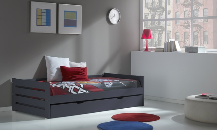 lit gigogne groupon shopping. Black Bedroom Furniture Sets. Home Design Ideas