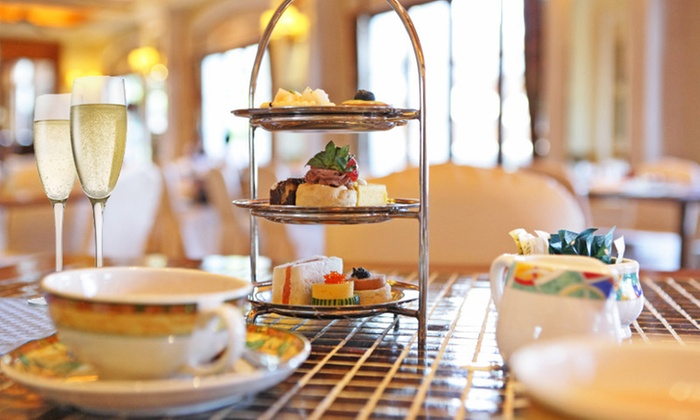 Never Too Latte - San Bruno: $39 for a King's and Queen's Tea Service for Two with Sweets and Sandwiches at Never Too Latte ($70 Value)
