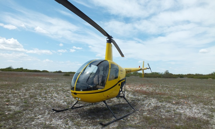 Flying Helicopters Made Easy - East Farmingdale: 90 Minute Helicopter Flying Lesson or 15-Minute Helicopter Flight from Flying Helicopters Made Easy
