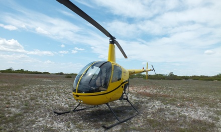 $189 for Helicopter Ride with Ground Instruction from Flying Helicopters Made Easy ($379 Value)
