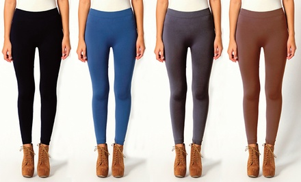 6-Pairs of Full-Length Fashion Leggings