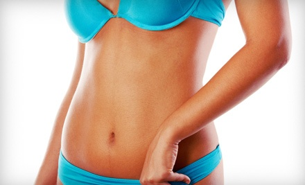 One or Three Airbrush Tans or Body Wraps at Golden Image, LLC  (Up to 53% Off)