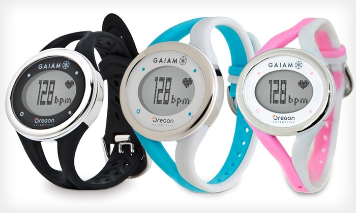 Gaiam Heart-Rate Monitors: Gaiam Heart-Rate Training Monitors (Up to 51% Off). Three Styles Available. Free Shipping and Free Returns.