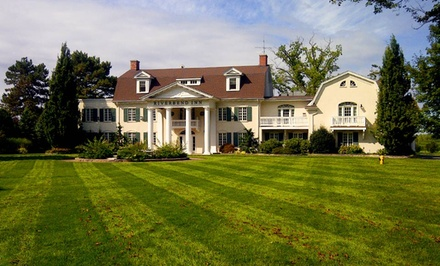 groupon daily deal - 2-Night Stay for Two in a Premium Room with Wine Lover's Package at Riverbend Inn & Vineyard in Niagara-on-the-Lake, ON