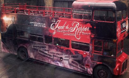 image for Jack the Ripper, Haunted London and Sherlock Holmes Bus Tour Ticket with Premium Tours (50% Off)