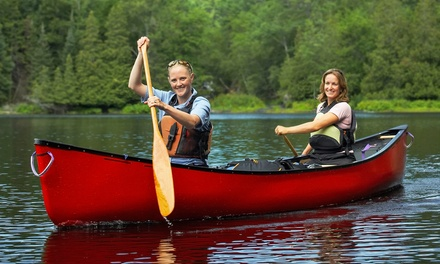 Half- or Full-Day Self-Guided Canoe or Kayak Trip from Frog Hollow Outdoors (Up to 47% Off)