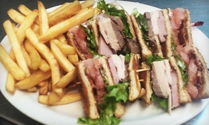 Cafe Perks - Multiple Locations: Café Food and Drinks at Café Perks (Up to 52% Off). Two Options Available.