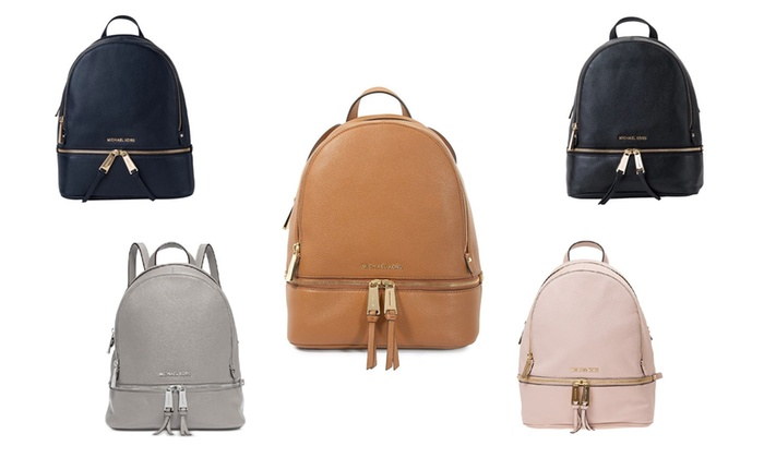 Up To 38% Off Michael Kors Leather Backpack  8b4f23d2d0c5c