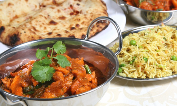 New Asian Village - St Albert: Indian Cuisine for Lunch for Two or for Dinner for Two or Four at New Asian Village (Half Off)