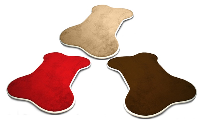 Innergy Bone-Shaped Memory-Foam Pet Mat: Innergy Bone-Shaped Memory-Foam Pet Mat in Small or Large. Multiple Colors Available from $9.99-$16.99.