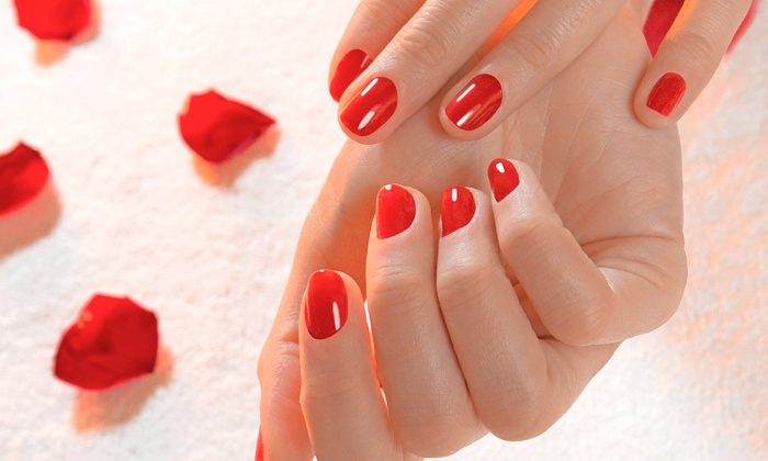 Nails By: Lisa E - Moraine: Shellac Manicure with Optional Shellac Pedicure at Nails By: Lisa E (Up to 50% Off)