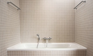 TileBaths: $150 for Tub Re-Caulking and Grout Cleaning from TileBaths ($300 Value)
