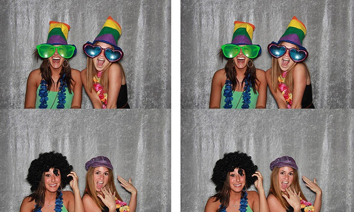 Ham It Up Photo Booth - Omaha: $250 for a Two-Hour Photo-Booth Rental Package from Ham It Up Photo Booth ($500 Value)