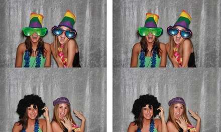 $250 for a Two-Hour Photo-Booth Rental Package from Ham It Up Photo Booth ($500 Value)