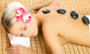 Custom Therapy Massage: 60- or 90-Minute Hot-Stone Solo or Couples Massage at Custom Therapy Massage (Up to 61% Off)