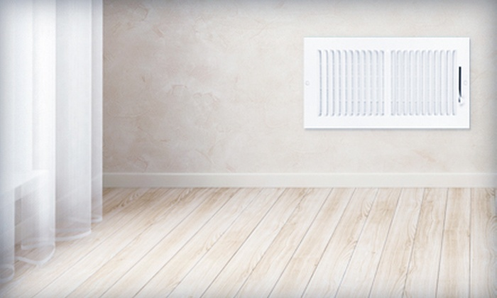 Royal Carpet Cleaning Janitorial & Windows - Amarillo: $49 for an Air-Duct-Cleaning Package from Royal Carpet Cleaning Janitorial & Windows ($165 Value)