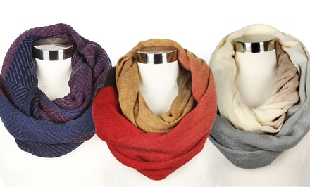 Soft Infinity Scarves