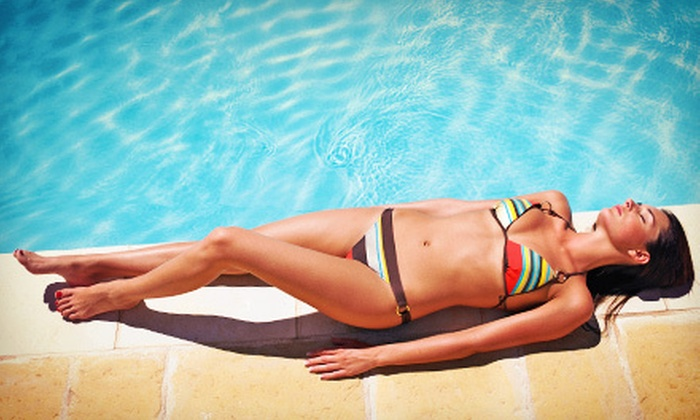 Airbrush or UV Tanning at Body Rays Tanning (Up to 57% Off). Five Options Available.