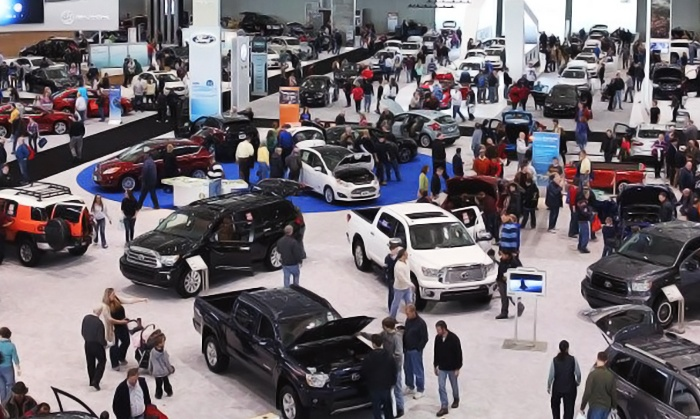 New England International Auto Show - Boston Convention and Exhibition Center: $22 for Two Admissions to the New England International Auto Show on 1/15 or 1/16 ($30 Value)