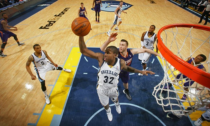 Memphis Grizzlies - FedExForum: Memphis Grizzlies Game Package at FedExForum (Up to 64% Off). Three Games and Two Seating Options Available.