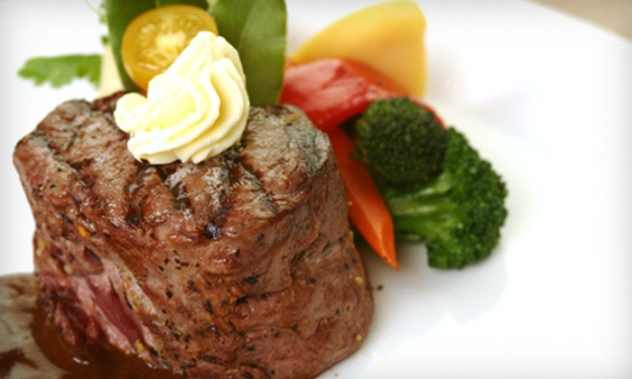 Marmont Steakhouse and Bar - Center City East: American Cuisine and Steaks for Two or Four at Marmont Steakhouse and Bar (Up to 55% Off)
