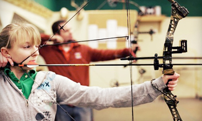 Average Joes Archery - Coon Rapids: Archery Outing for Two, 10 Open-Shoot Rounds, or Six Rounds of Virtual Archery at Average Joes Archery (52% Off)