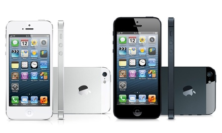Apple iPhone 5 16GB or 32GB (GSM Unlocked) (Apple Re-Certified). 16GB or 32GB Model for $399.99 or $449.99.