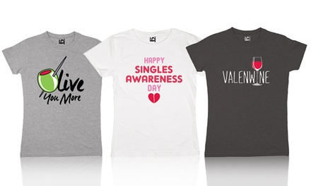 Women's Graphic Valentine's Day Tee