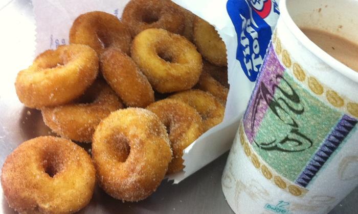 Tiny Tom Donuts - Markham: C$8 for Four Dozen Donuts at Tiny Tom Donuts (C$16 Value)