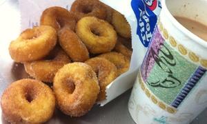 Tiny Tom Donuts: CC$10 for Four Dozen Donuts at Tiny Tom Donuts (CC$20 Value)