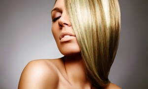 Textures Salon and Spa by Bryan Hoshall : $54 for a Haircut with Highlights or Lowlights at Textures Salon and Spa by Bryan Hoshall ($105 Value)