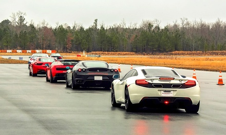 Exotic-Car Driving Experience or Ride-Along from Adventure Supercars (Up to 51% Off). 14 Options Available.
