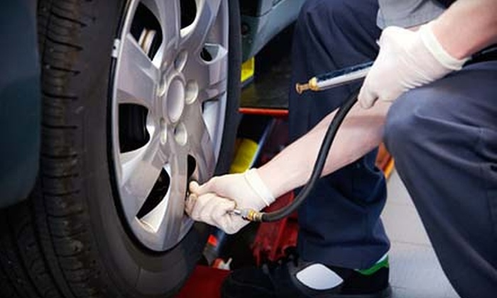 Fountain Tire - Vaughan: C$39 for a Summer Car-Care Package with an Oil Change, Tire Rotation, and Inspection at Fountain Tire (C$84.95 Value)